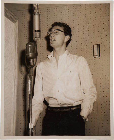 Buddy Holly singing